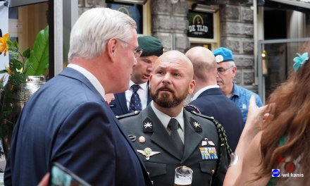 Opening Veteranencafé in Deventer