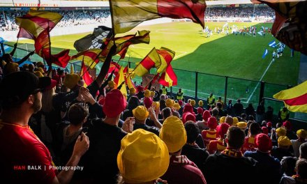 Supporters massaal achter GA Eagles