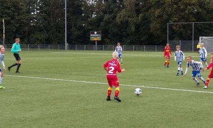 Go Ahead Eagles U13 in Olst