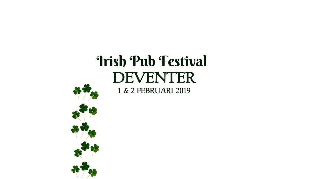 Live muziek in 15 kroegen: Deventer Irish Pub Festival