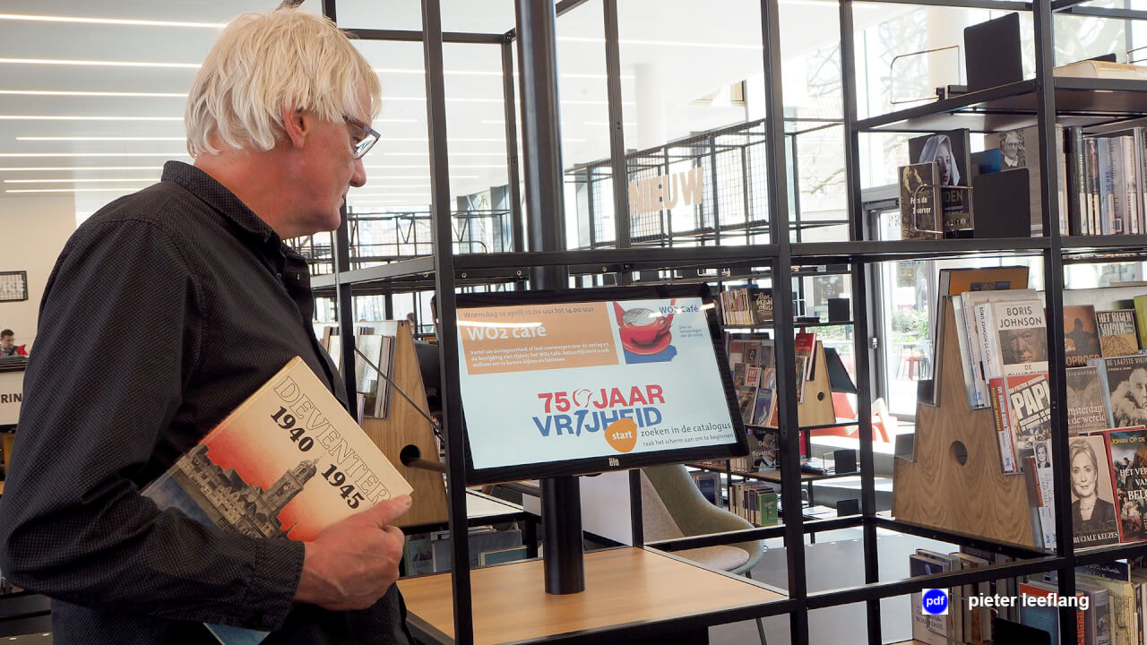 WO2 Café in de Bibliotheek Deventer