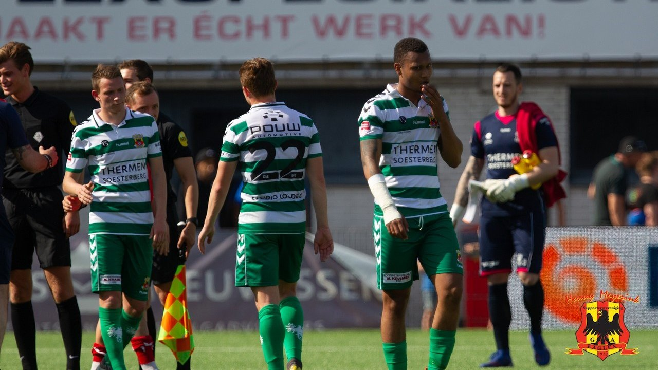 Jeugdig tiental GA Eagles onderuit in Oss