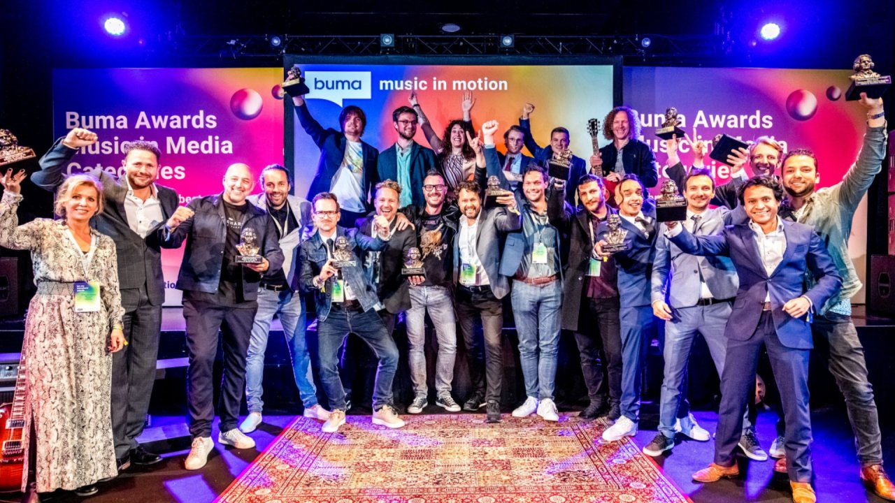 Winnaars Buma Awards Music in Media Bekend