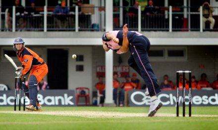 Top Cricket in Deventer, Nederland ontmoet Zimbabwe!