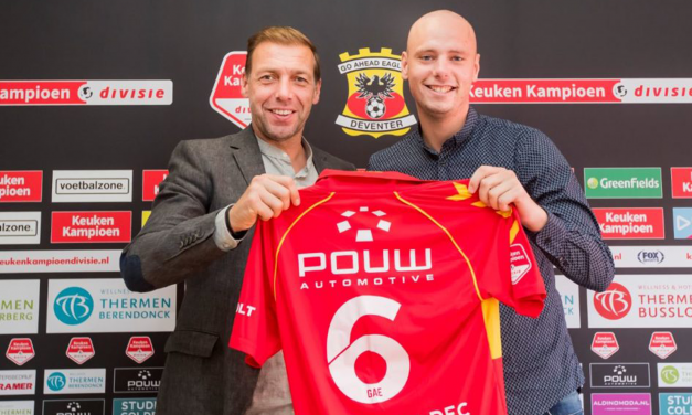Elmo Lieftink naar Go Ahead Eagles
