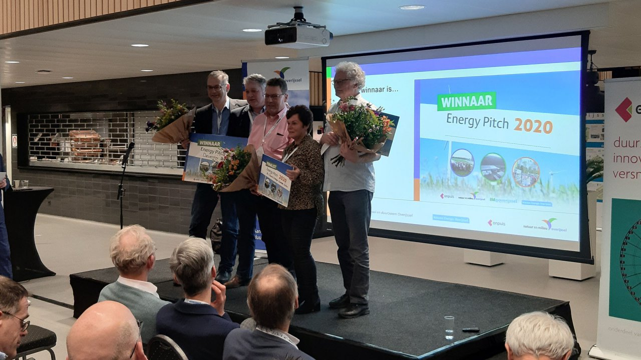 Deventer Energie wint Energy Pitch 2020