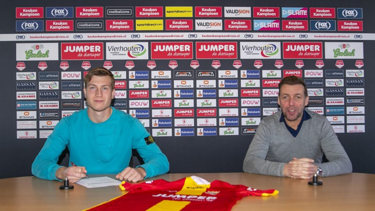Sam Crowther tekent contract bij Go Ahead Eagles